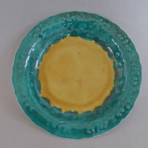 初期鍋島輪花皿